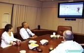 27日十佳图:奥巴马空中看球 北非之狐享受焰火