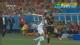视频-争头球米拉拉斯被单臂拦腰 洪正好染黄