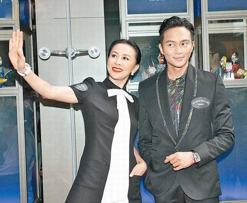 刘嘉玲与张智霖