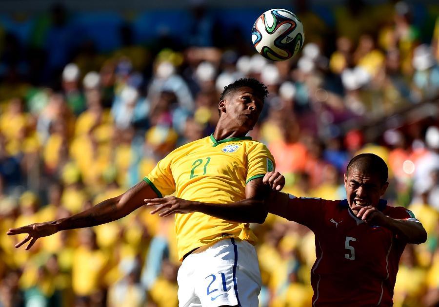 贝洛奥里藏特(巴西),2014年6月28日 (世界杯)(66)足球—图片