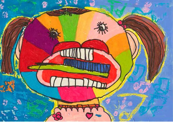 """我的梦—山东省首届幼儿创意绘画展""""于6月28日在山东省美术馆开幕.图片"""