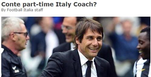 孔蒂有望兼职意大利国家队主帅