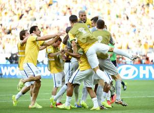 巴西对智利不是决赛胜似决赛 主队获胜球迷沸