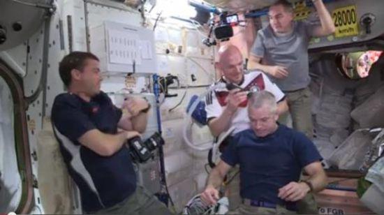 NASA公布的视频截图