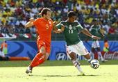 进球回放:多斯桑托斯远射命中 墨西哥先破僵局