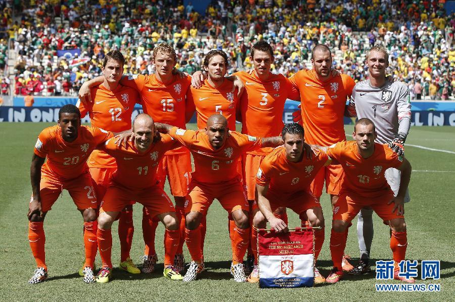 2014韩国国家队阵容_八分之一决赛:逆转!荷兰队2:1墨西哥队(组图)-搜狐滚动