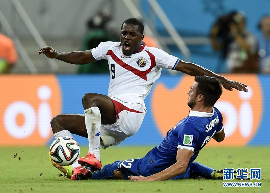 巴西世界杯:点球大战!哥斯达黎加6-4希腊 首进世界杯八强