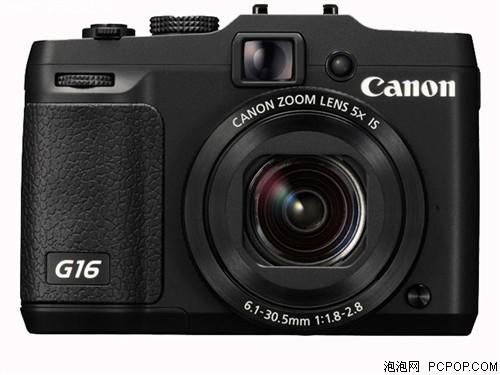 佳能G16 数码相机 黑色(1210万像素 3英寸液晶屏 5倍光学变焦 28mm广角)数码相机