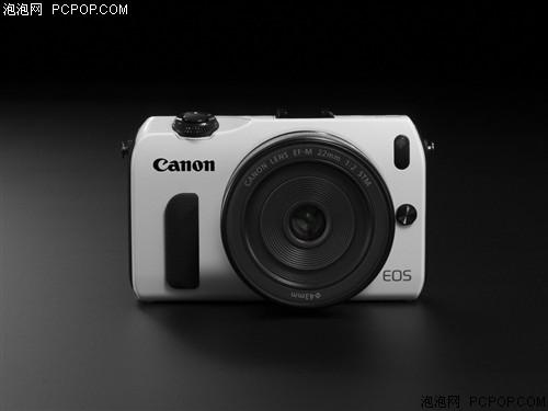佳能(Canon)EOS M套机(EF-M 18-55mm,EF-M 22mm,90EX闪光灯)数码相机