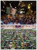 德国阿尔及利亚球迷PK:日耳曼战车女拥趸疯狂