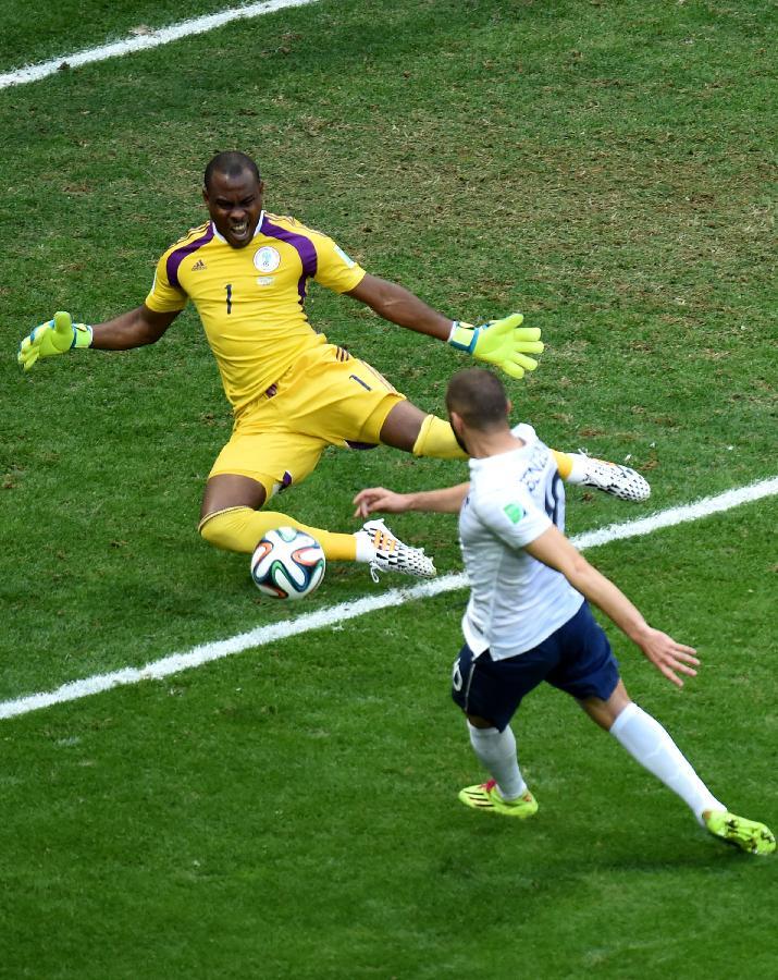 (世界杯)(36)足球——尼日利亚队无缘八强