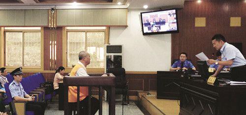 昨日下午,张友仁在阜阳市中级人民法院受审。