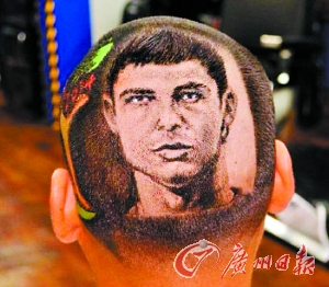 头像 发型 内马/内马尔C罗头像刻上头新发型助小伙约会成功(组图)