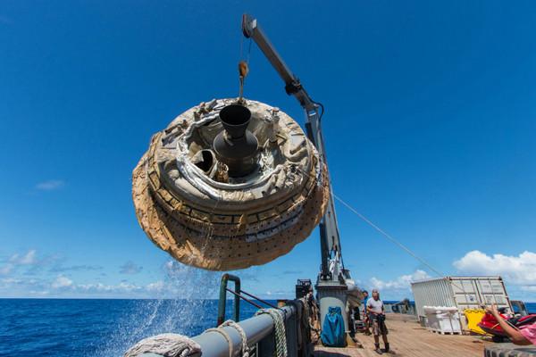 资料图:nasa测试飞碟外形飞行器:铺路未来载人登陆火星.