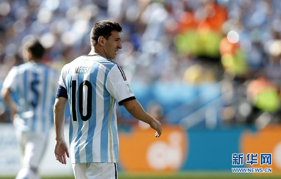 八分之一决赛:阿根廷队1:0瑞士队(组图)-搜狐滚
