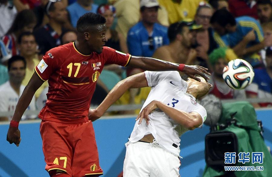 """比利时再现换人奇迹 卢卡库传射助""""红魔""""小胜美国进8强"""