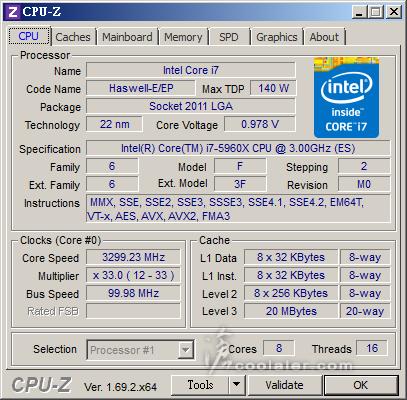 高达999美元 八核处理器i7-5960X将到来