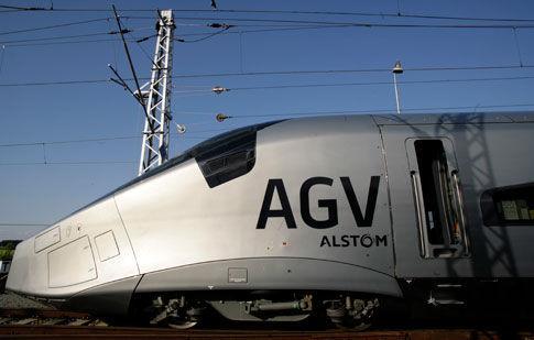 法国阿尔斯通运输公司自主开发的第四代高速列车agv