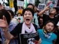 日通过集体自卫权决议案 引万人示威狂潮