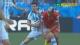视频-梅西拼抢中起争执 愤怒抱球推倒贝赫拉米