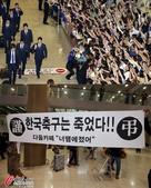 日韩世界杯归来待遇迥异 日本受捧韩国被砸(图)