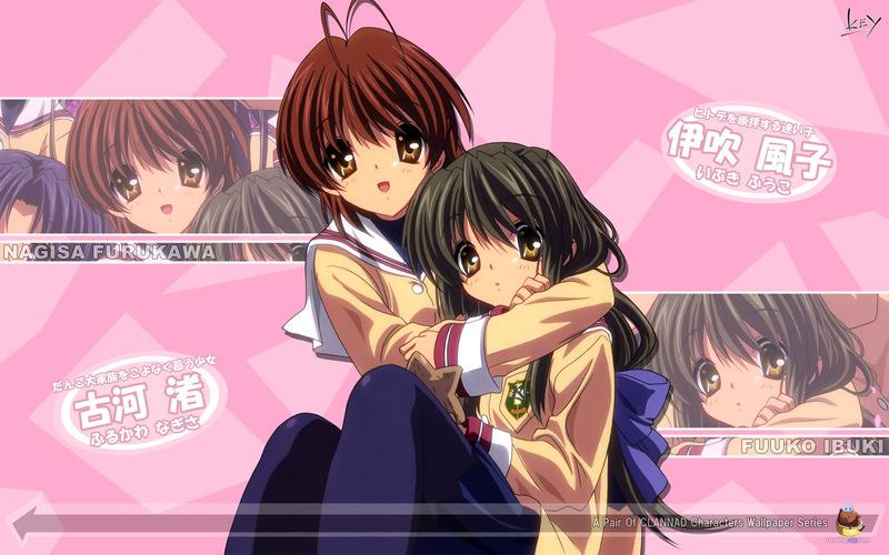 日本动漫《Clannad》高清女生网名网名-搜狐滚美图女生搜索搜索家族小镇图片