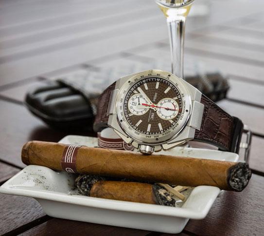 IWC Ingenieur 工程师计时系列 x Montecristo No.4雪茄