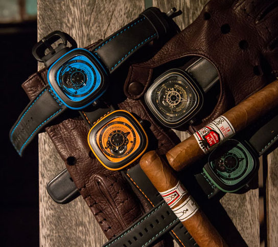 Sevenfriday 可以说是这年来最火红的潮流手表