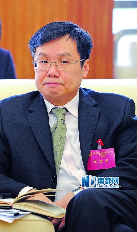 东莞市委常委、常务副市长张科。南都资料图