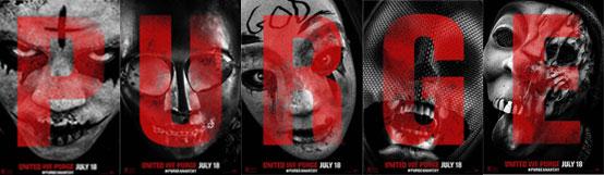 《人类清除计划2》5张海报齐发