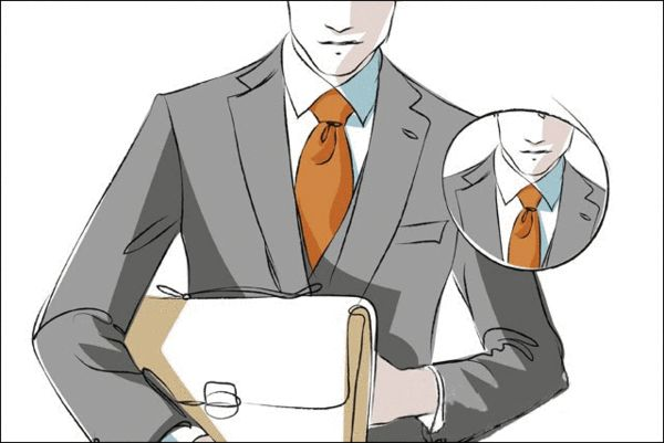 领带结的大小