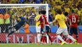 进球回放:大卫路易斯任意球破门 巴西扩大优势