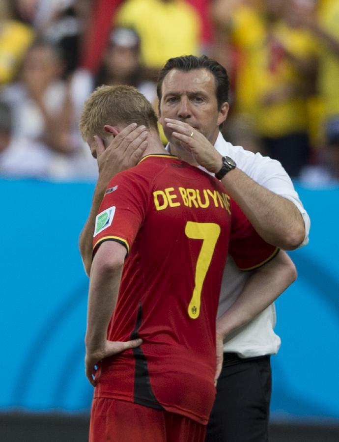 (世界杯)(51)足球——比利时队无缘四强
