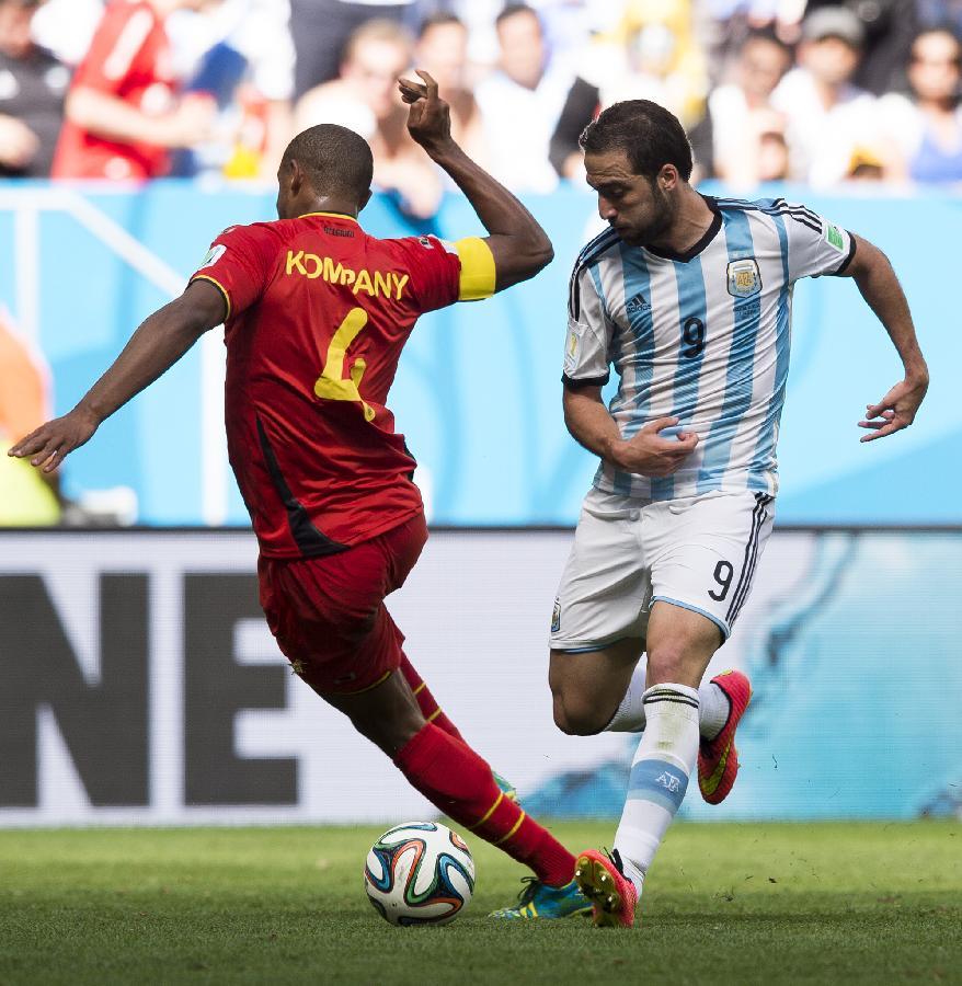 (世界杯)(84)足球——阿根廷队晋级四强