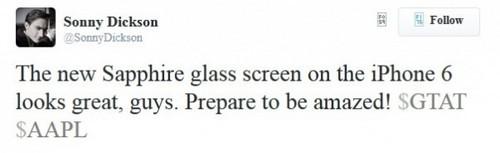 苹果前员工暗示 iPhone 6将配蓝宝石屏(图片引自cnbeta)