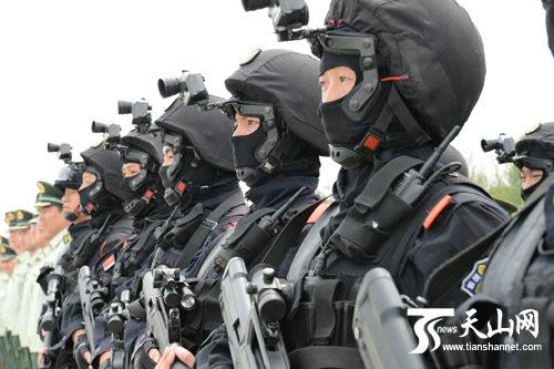 国家级反恐拳头部队,是武警总部直接领导和指挥的一支国家反恐力图片