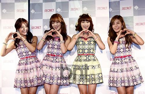 ecret将于今年夏天回归-女子组合Secret将合体回归 魅惑新曲引期待图片