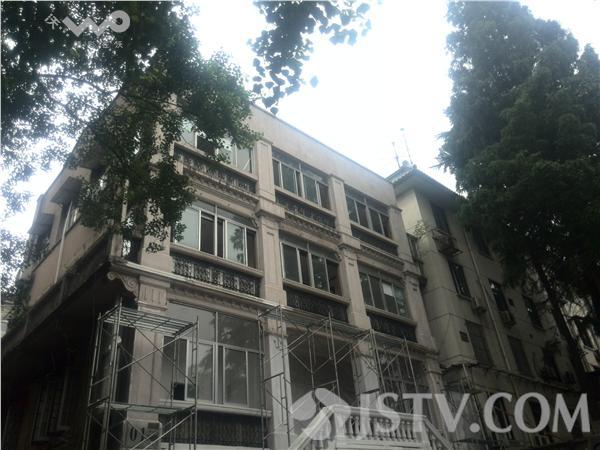 南京:日本驻中华民国大使馆今起修缮