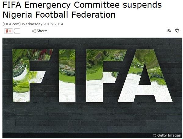 尼日利亚遭受重罚!