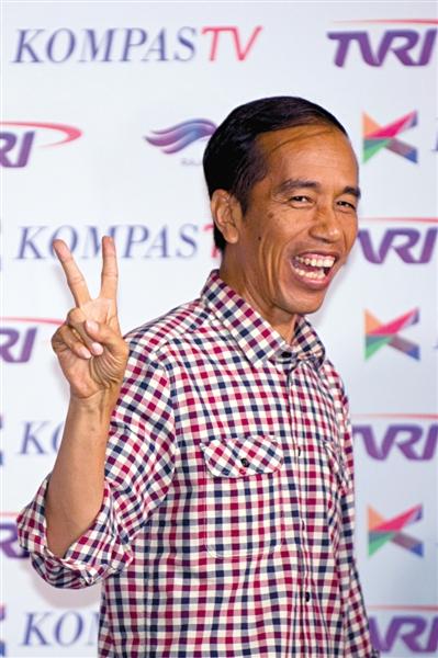 """""""印尼版奥巴马"""" 因反腐获口碑"""
