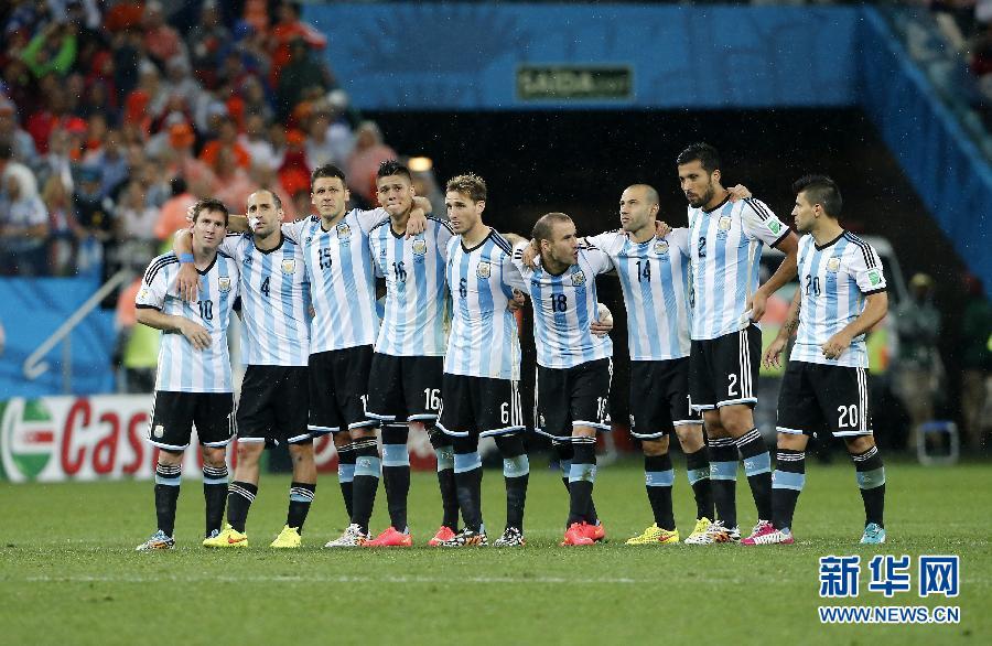 阿根廷4:2点球决胜荷兰挺进世界杯决赛(组图)|