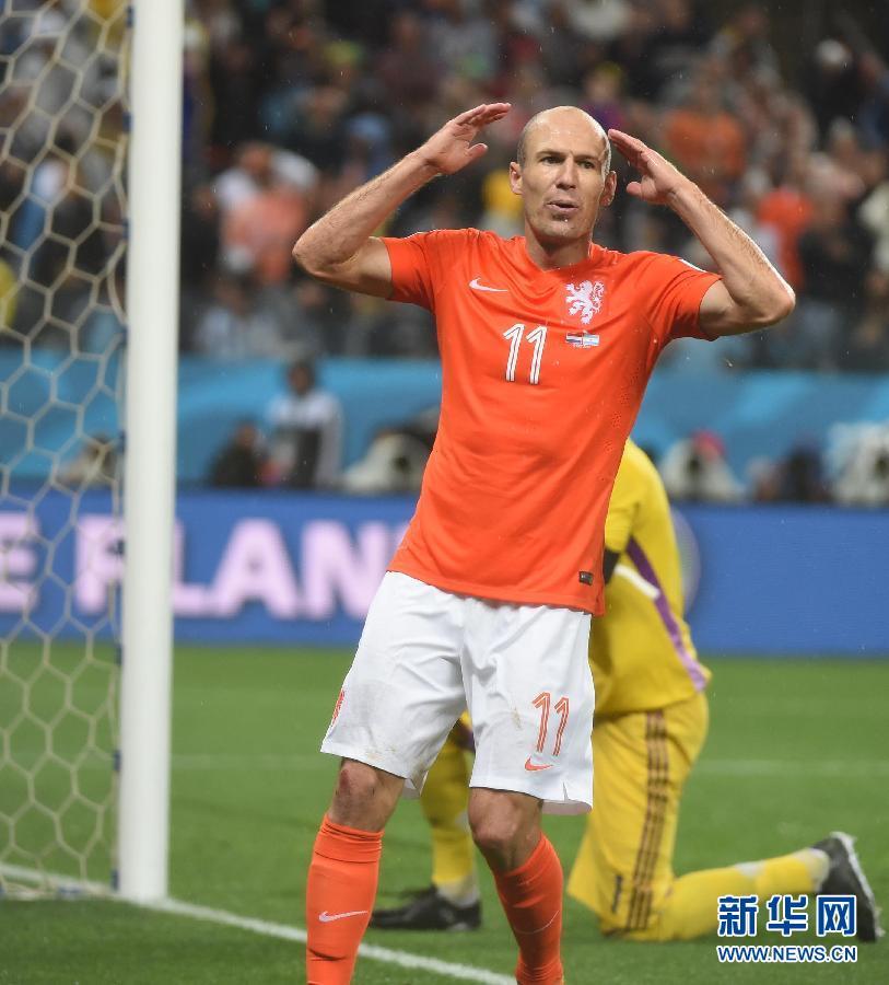 """""""无冕之王""""荷兰与马拉卡纳擦肩而过"""