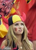 高清图:比利时少女一夜爆红 率性激情征服世界