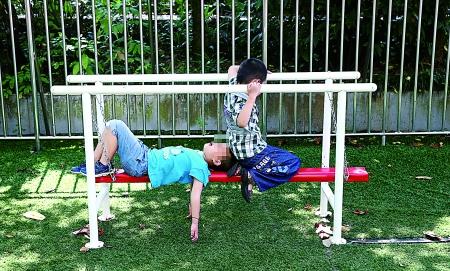 孩子练习平衡稳定能力