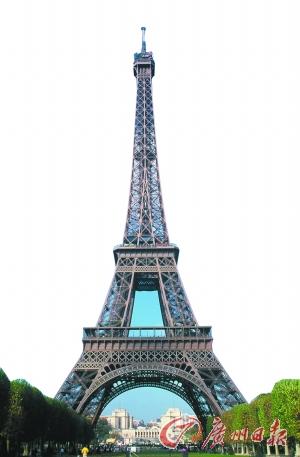 在巴黎,埃菲尔铁塔也是游人必去的地方。