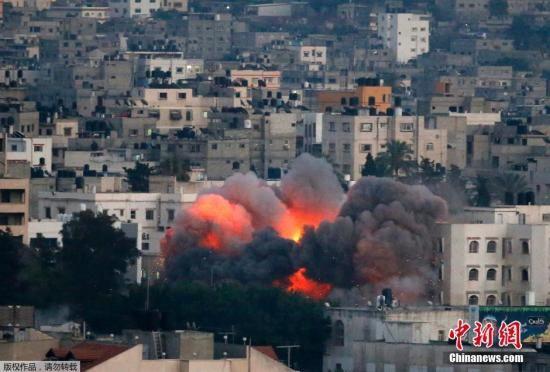 巴以冲突_巴以冲突夜袭数十次 以色列空袭加沙致72人死亡(图)