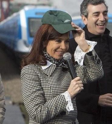 阿根廷美女总统将不会到巴西观看世界杯决赛图