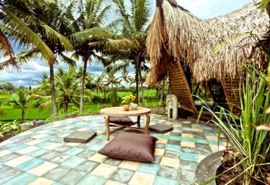 印度尼西亚稻田竹舍