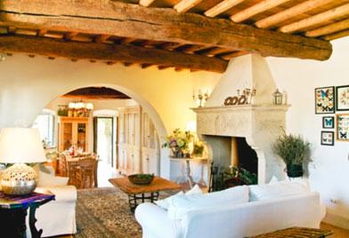意大利托斯卡纳的乡村石屋