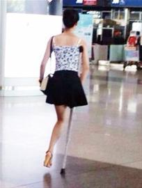 独腿女孩穿20厘米高跟鞋(图)|独腿女孩穿高跟鞋-搜狐 ...